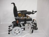 Lightweight Aluminum New Version Electric Wheelchair with Lights