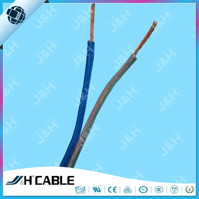 TCCA Transparent Hihg Flat Speaker Cable