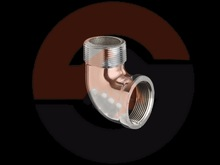 CP Brass Sanitary Male-Female Elbow Fittings with all sizes