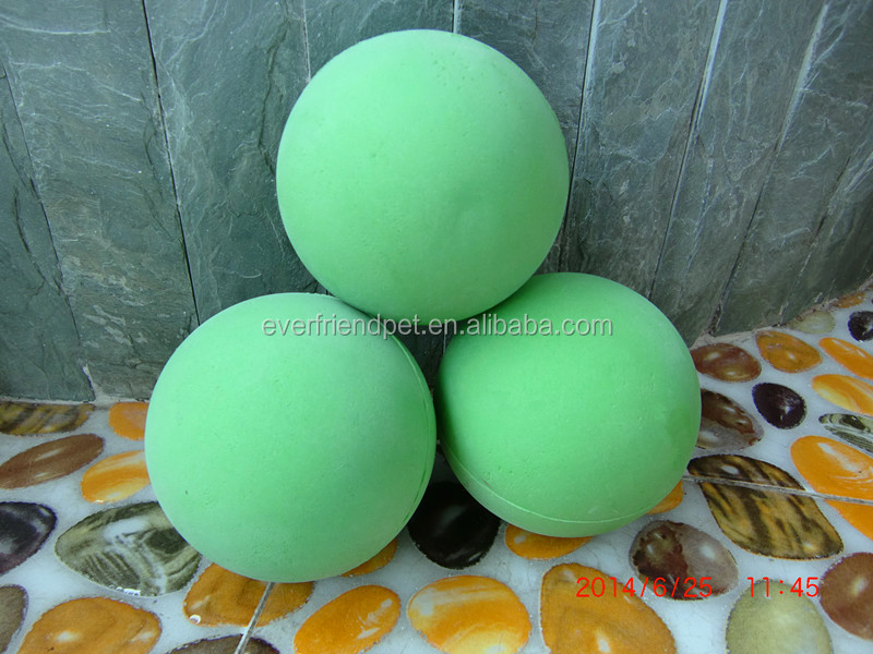 2014 Hot custom hollow plastic bouncing back ball