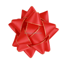 Factory Worker Craft Red Satin Mini Christmas Decorative Gift Bows