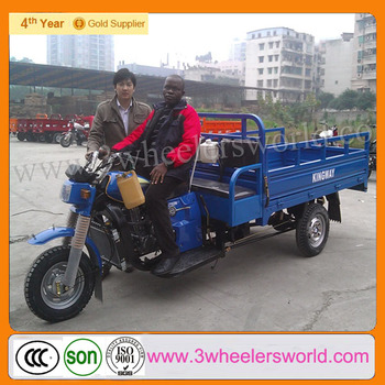 Chinese Three Wheel Motorcycle/ Cargo Bike Prices/Factory in China