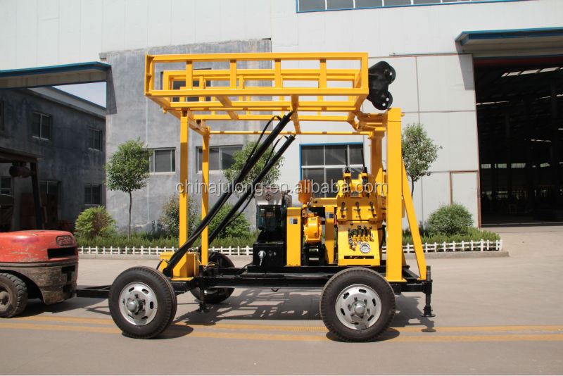 XYX-2 trailer mounted portable water well drilling rig