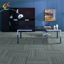 HOT 50x50cm commercial carpet with pvc backing office carpet tiles