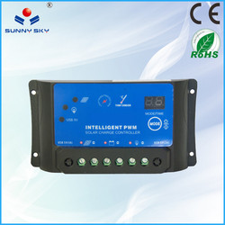 PWM 10A 12v 24v 48v price solar midi controllerelectric bike motor controller 24v 500w factory direct sale TYC-20A