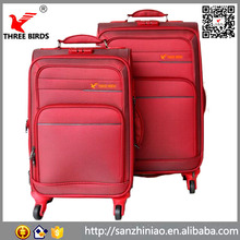 Online shopping sanzhiniao big trolley luggage bag carry on traveling luggage and suitcase