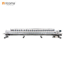 Ricoma 12 Head Super High-Speed Computer Flatbed Embroidery Machine FHP-0912 as Tajima Embroidery Machine