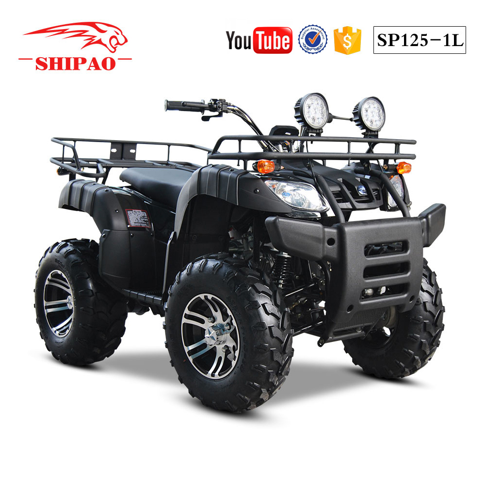 SP125-1L shipao nice experience all terrain quad bikes