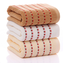 70*140cm organic square adults kids bath cleaning cotton towel