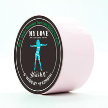 Factory 15M Pink Sex Electrostatic tape adhesive tape adult game, sex duct tape for games