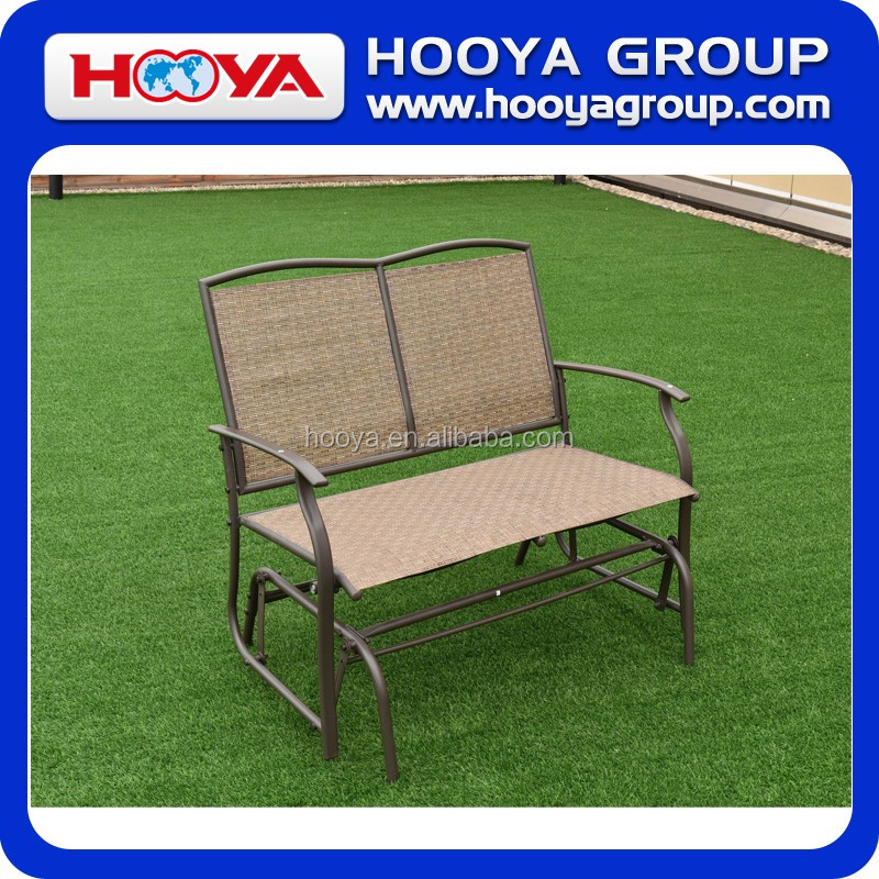 Iron outdoor double cheap leisure chair
