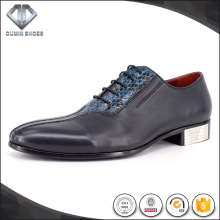 EVA genuine leather and handmade dress shoes for men