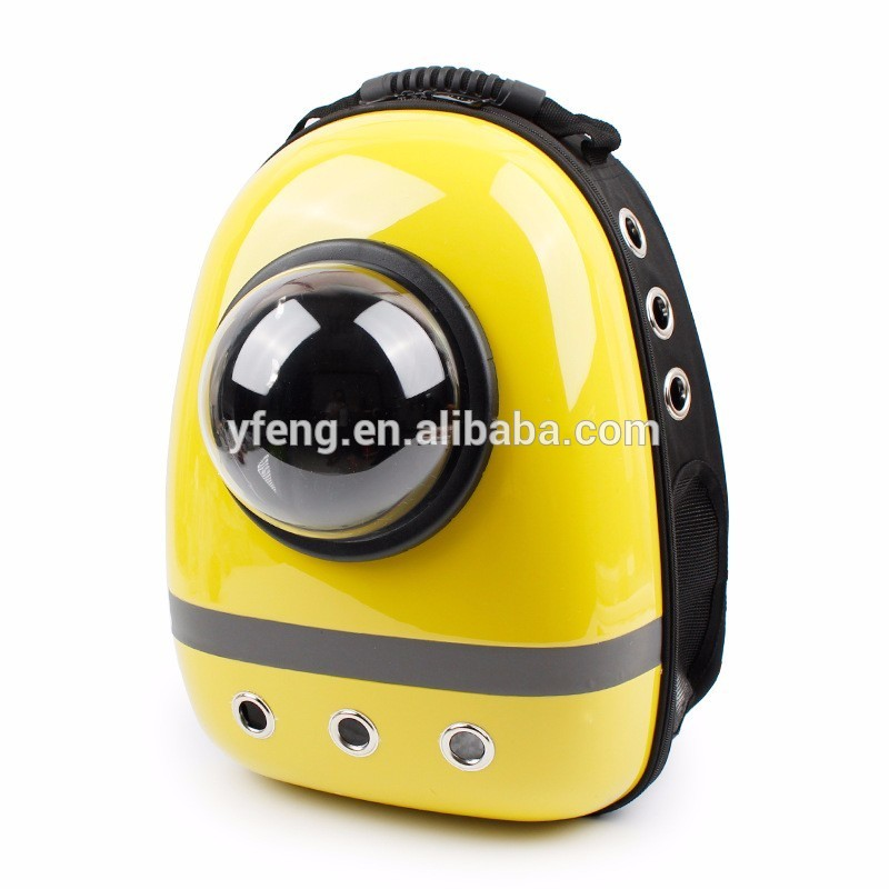 Pet accessories wholesale china dog travel carrier backpack capsule shaped pet carrier for pet supplies