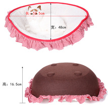 Luxury pet products wholesale dog bed &Cat Kitten Cave Washable bed Covers