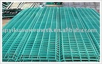 PVC coated welded wire mesh panel (factory)