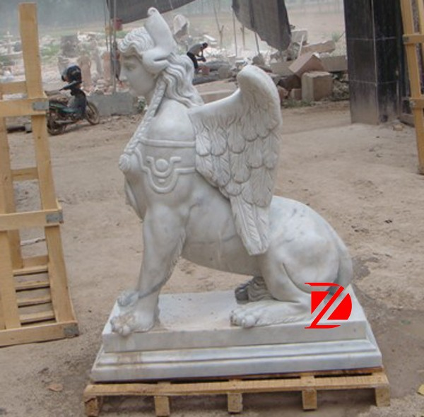 marble decorative sphinx statues for sale