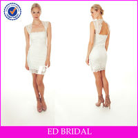 ssw007 2013 new style sexy fitted lace short wedding dresses