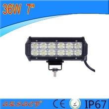 New arrival !! 7 inch 36w off road led light bar,led light bar off road