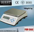 15kg/1g Weighing Scale double rechargeable battery