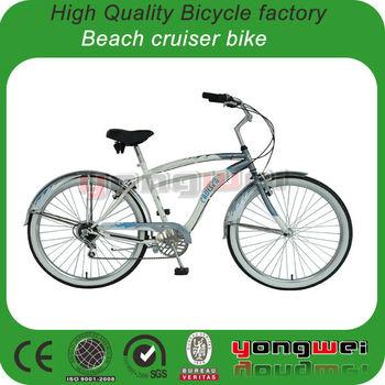 26quot 7 Speed Beach Cruiser BicycleMens Beach Cruiser Bike View Beach Cu