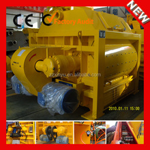 Hot Sale High Speed JS4000 Electric Horizontal Forced Twin Shaft Concrete Mixer