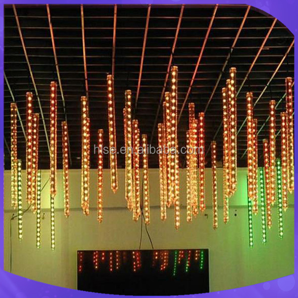 Factory 3d dmx rgb led tube