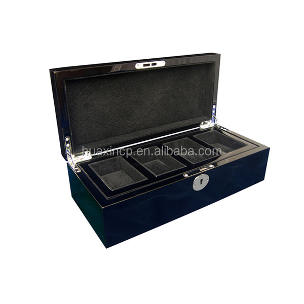 portable gift key lock watches presentation case