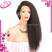 Best Quality 360 Kinky Straight Hair Brazilian Lace Frontal Wig