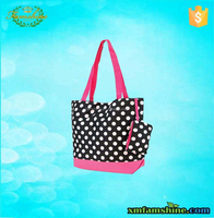 reusable cotton fashion shopping bag/cotton tote bag