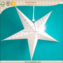 wall decoration handcraft hanging paper- star