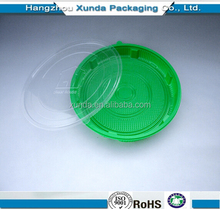 2015 plastic blister big plates with lid PP/PET big tray