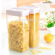 BPA free food grade waterproof airtight easy lock food container