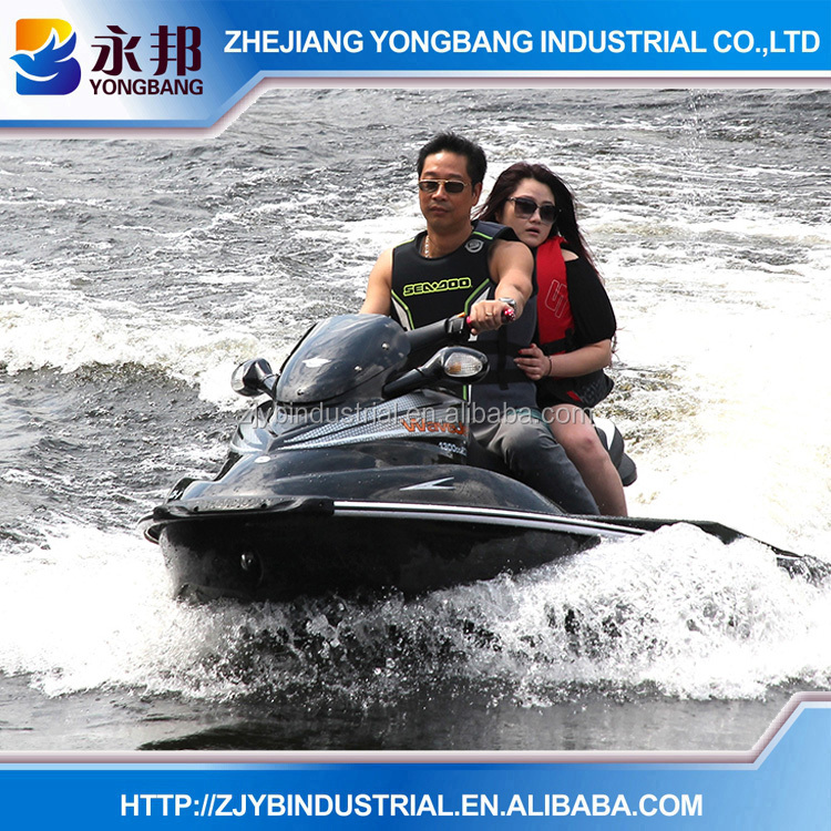 CHINESE MANUFACTURER YONGBANG Jetski Black or White Color YB-CA-1 Suzuki Engine 1300CC 2 person China Small Jet Ski Boat