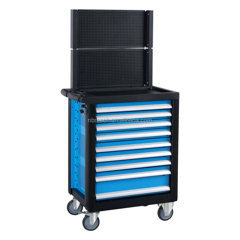 9 Drawer Heavy Duty Car Repair Tool Trolley