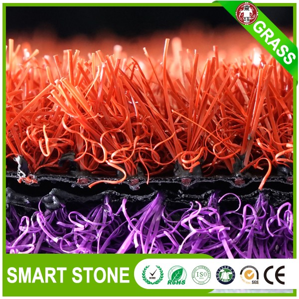 Colorful artificial grass carpet roll indoor red /bule synthetic turf grass carpet for parties