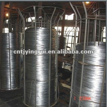 Manufacture Hot dipped galvanized wire