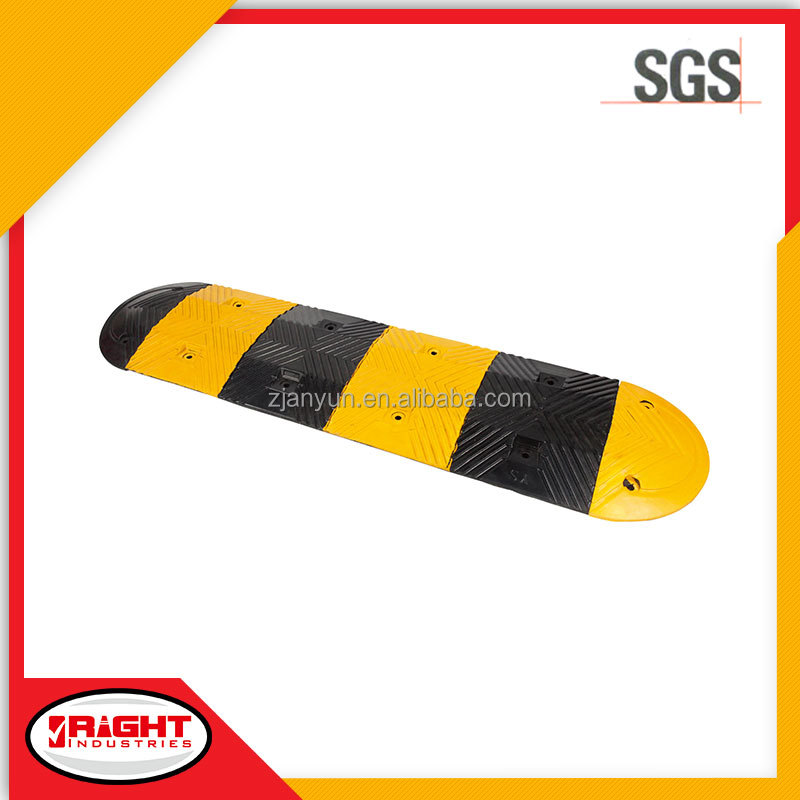 9020 Durable Portable Reflective Rubber Road Hump