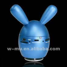 5W super mini loveable Built-in Rechargeable Battery Animal vibration Speaker