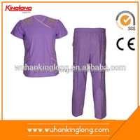 Fashion Design Hospital Unisex Scrub Suit
