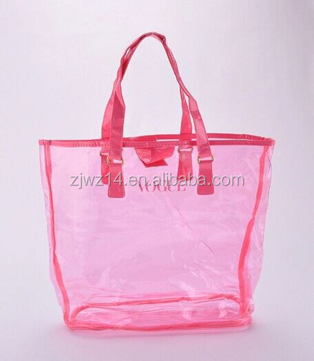 cheap fashion custom promotional wine bottle bag/pvc tube handle carrier bag