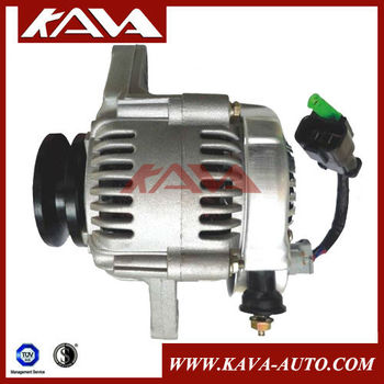 For Yanmar Alternator for 3TNV88, 3TNV82A, 3TNV84T, 3TNE82A,3TNE84. 11962677210. 12V/45A