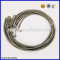 PTFE/EPDM+stainless steel braiding flexible hose