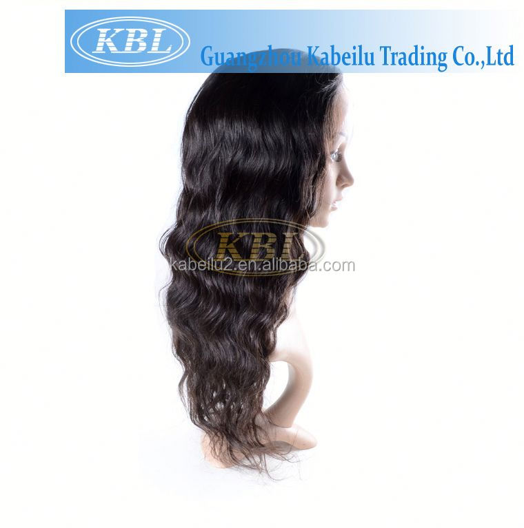 Cheap Prices full thin skin cap human hair lace wigs