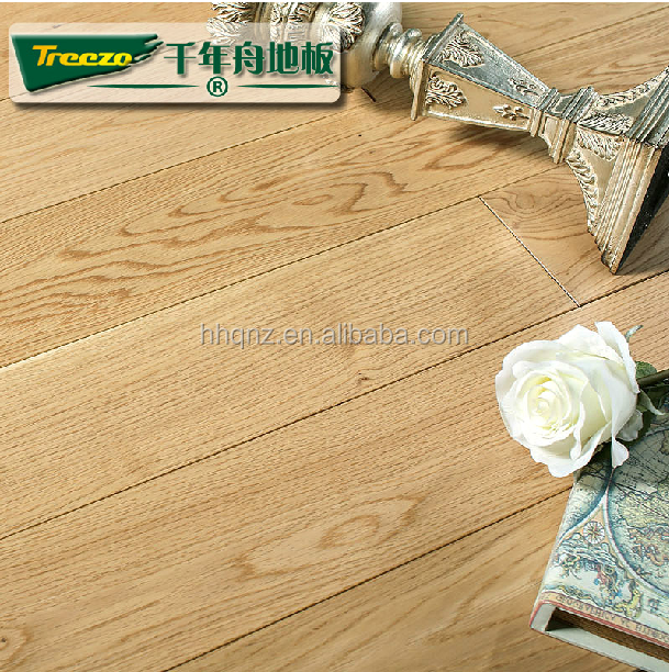 Wire brushed European Oak Engineered Wood Flooring Manufacturer China