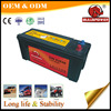 12v135ah Europe type mf weight of a car battery case