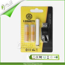 A9-2 E-Cigarette Cartomizer with rechargeable battery accessories electronic cigarettes