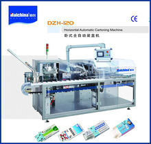 DZH120 Automatic Carton Box Packing Machine With High Speed/small products manufacturing machine/cartoning machine