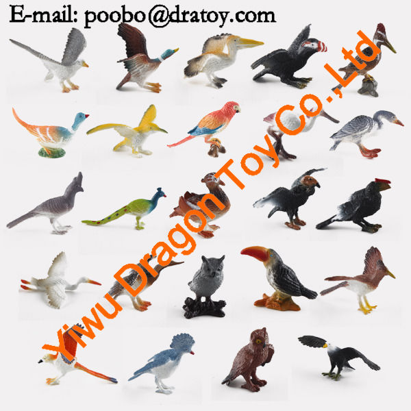 made in china flying bird toy,novelty plastic miniature birds