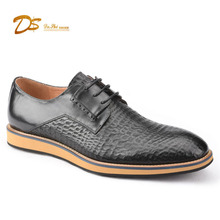 2018 genuine leather business wholesale factory men fashion casual shoes