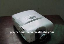White Iphone Projector used for home theatre